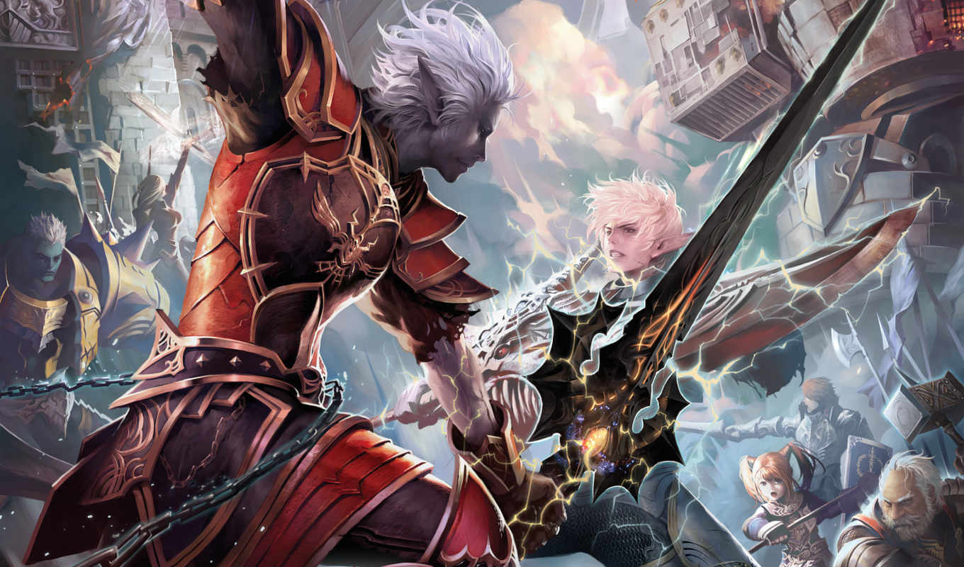 lineage, games, chaotic, game, игры, throne, ncsoft, interlude, you,