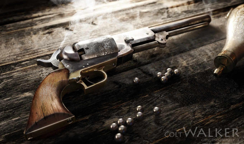 александр, rendering, revolver, colt, игры, iartsev, уолкер,