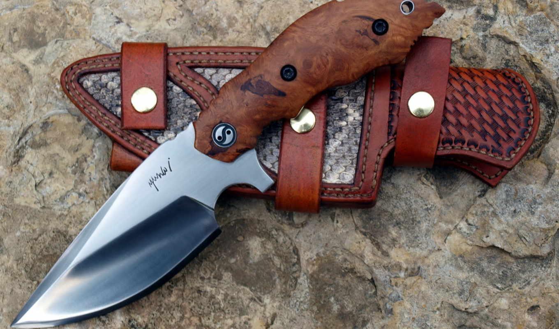 нож, оружие, yuna, широкоформатные, изображение, custom, sheath,