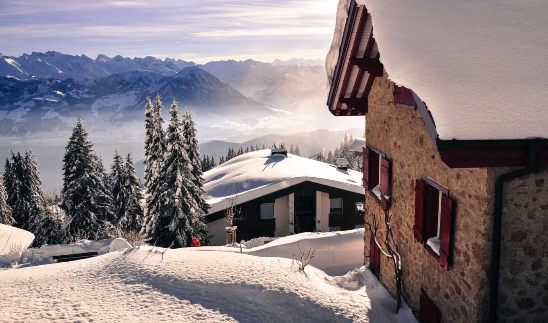 обои, зима, замечательные, mb, природой, зимней, ф