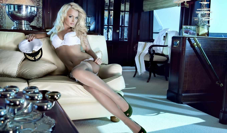 mandy, lange, miss tuning, блондинка, мэнди, чулки,