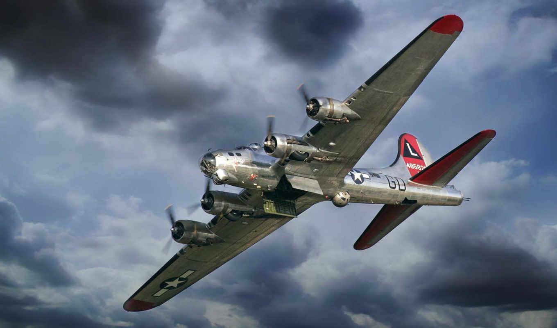 flying, fortress, совершенно, бомбардировщик, категория, самолёт, free, high, ту, авиация,