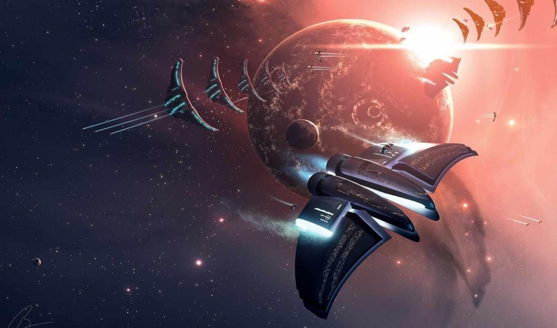 космос, картинка, планета, корабли, рисунок, звездолёт, best, pack,
