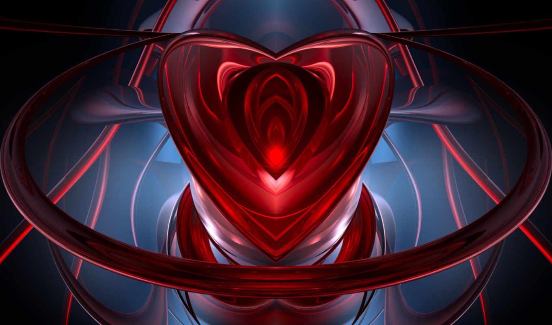 serce, abstrakcja, pulpit, you, очень, дерево,