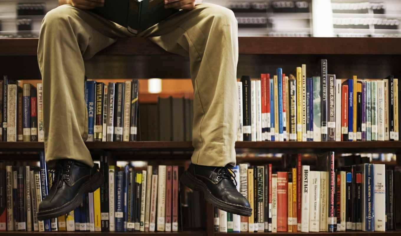 книги, библиотека, день, прочитать, research, everything,