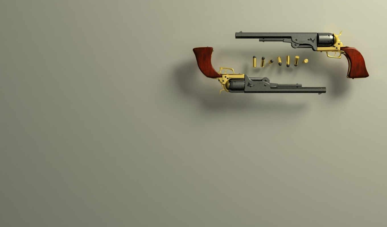 кольт, пистолет, пуля,
