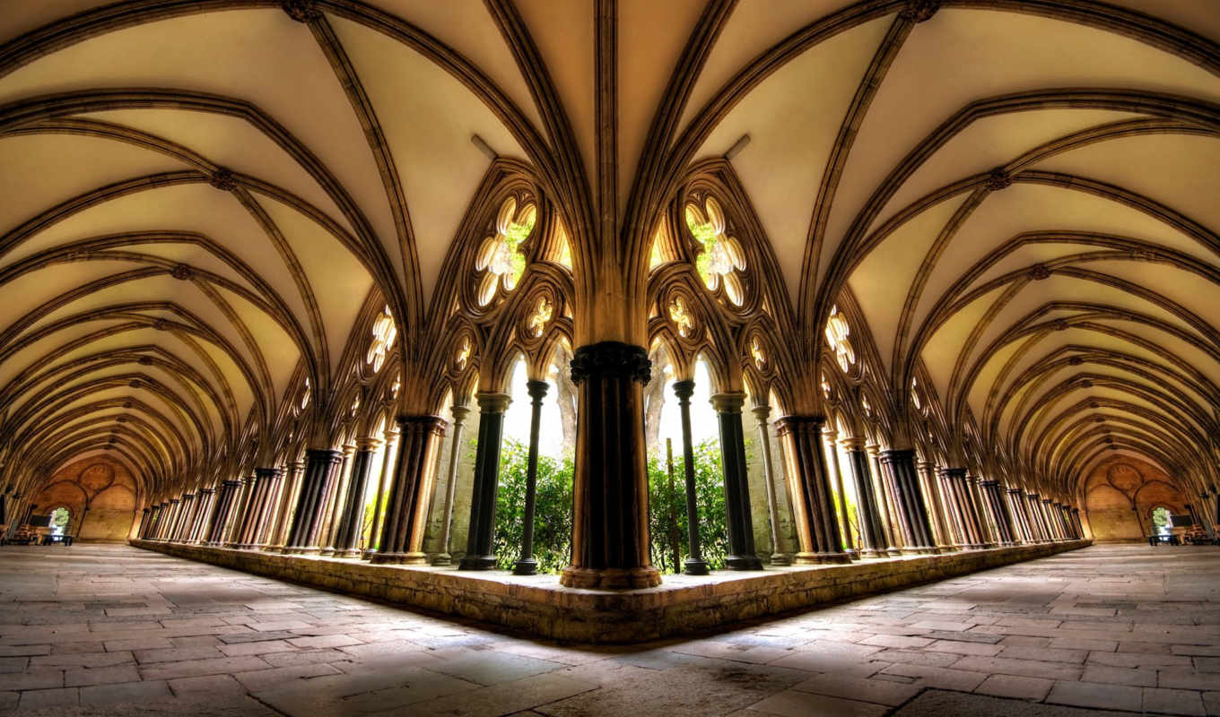 steele, salisbury, crispian, hdr, , school, cloisters, dynamic, range, architecture, music, cathedral, trumpet,
