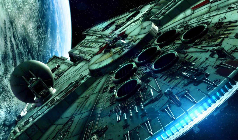 wars, star, falcon, millenium, movies, spaceships, войны, space, millennium,
