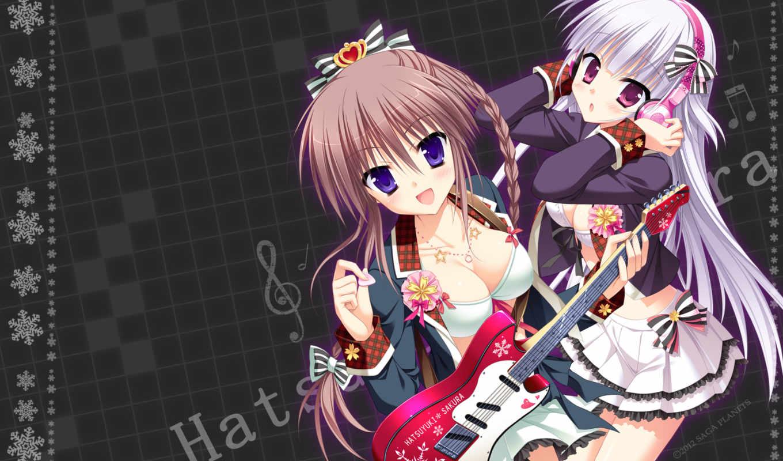 hair, anime, sakura, brown, bra, image, girls,