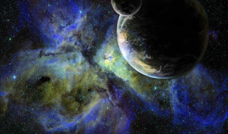 галактика, планета, звезды, спутник, картинка, картинку, space,