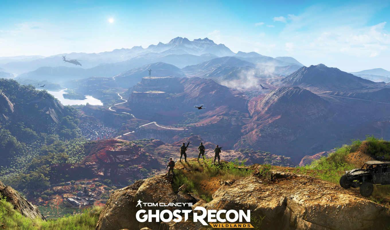 wildlands, ghost, recon, tom, clancy, trailer,