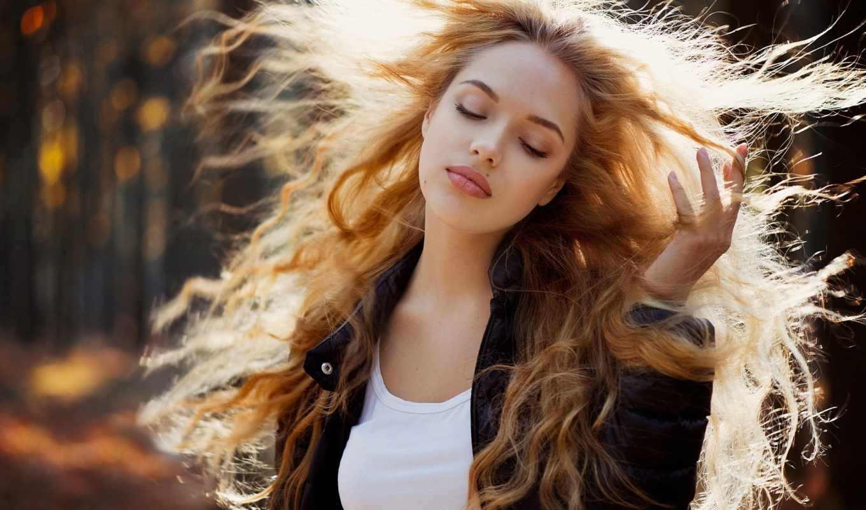 локоны, кофта, девушка, blonde, portrait, photography, pinterest, trees, взгляд, irina,