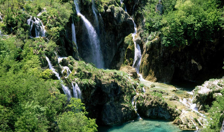 плитвицкие, озера, флот, miracle, national, largest, настоящее, among, расположен, хорватский, света,
