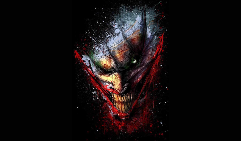 клоун, joker, comics, rub, за, universe,
