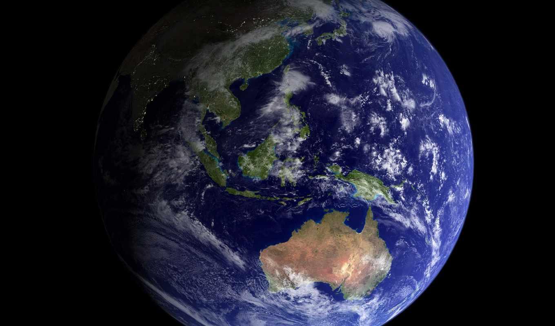 earth, космос, австралия, land, земля, showing, планета,