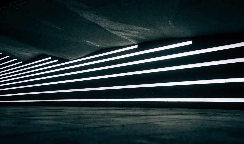 neon, свет, line, огни
