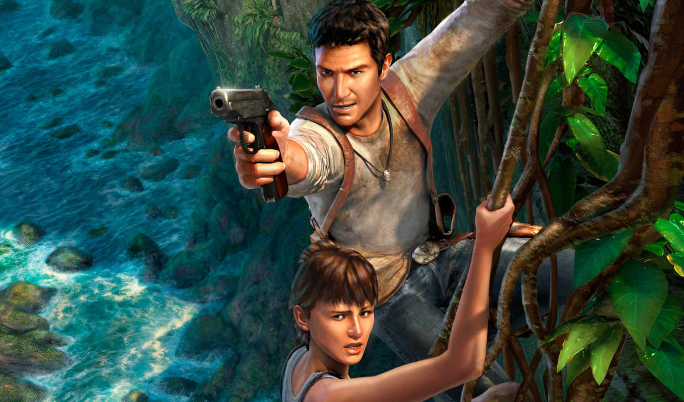 uncharted, game,
