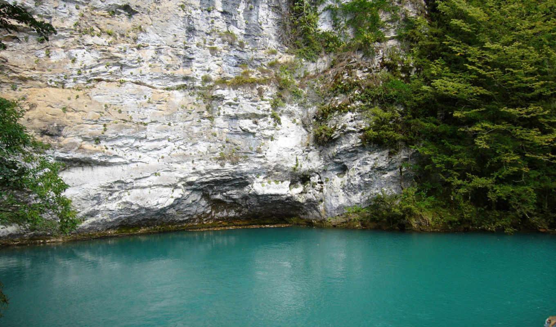 голубое, абхазии, озеро, автор, море, июль, горы, сочи, код, альбом, regina, природа,