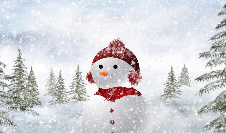 christmas, снеговик, facebook, новый, год, новогодние, компьютера, картинку, картинка, новогоднем, настроением,