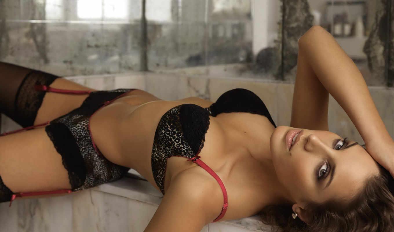 шатенка, грудь, девушки, lingerie, эротичная, girls, белье, чулки, самые, красивые, кнопкой, girl, секси, зеркало,