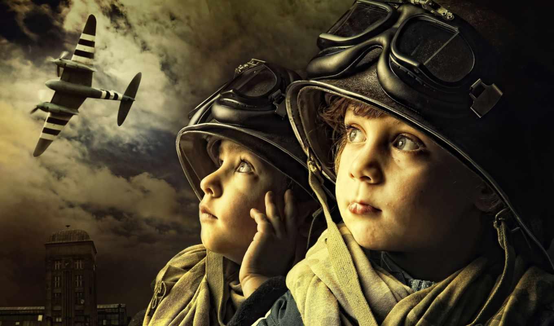 дети, шлем,