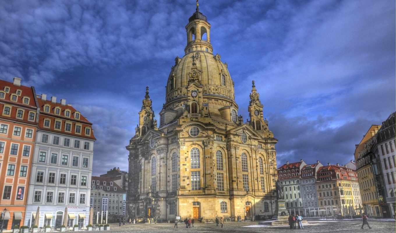 church, германия, dresden, фрауэнкирхе, frauenkirche, лютеранскую, городе, является, янв,
