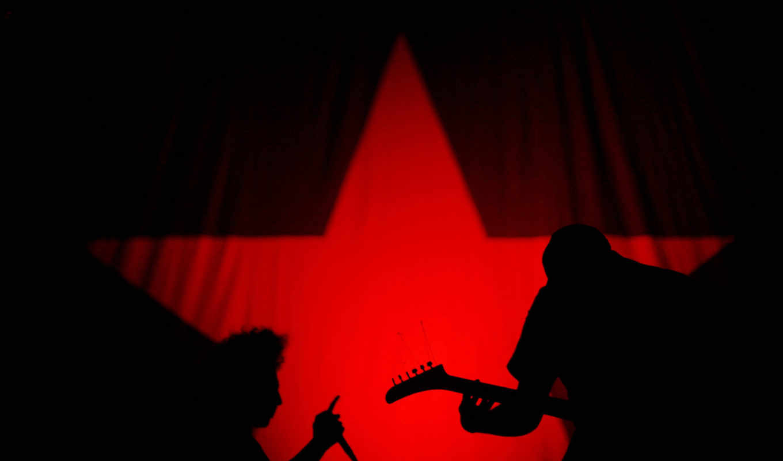 rock, музыка, star, чёрный, red, стиль, страница,