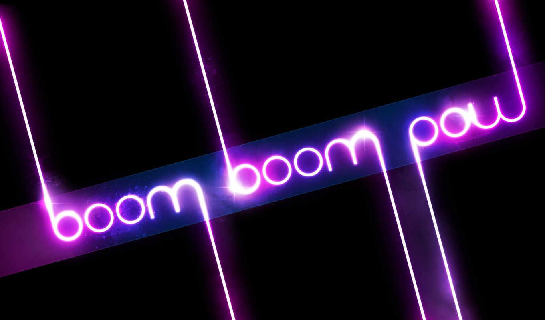 boom, neon, гламур, pow, sonic, deviantart, black, надписи,