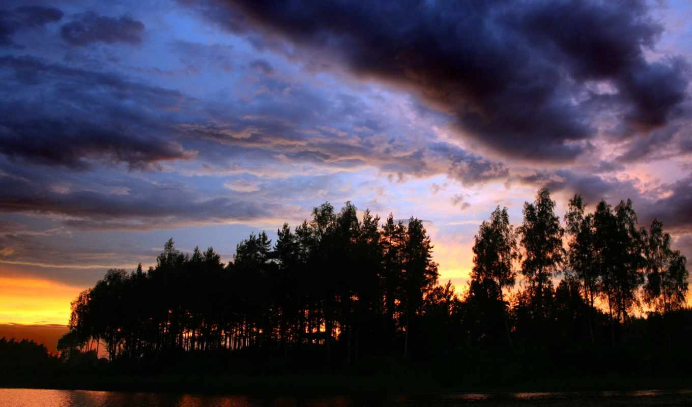 nature, wallpaper, sunset, hd, wallpapers, facebook, wild, tags, you, earth, stunning, trees, природа, lakes, evening, clouds, similar, outdoors,