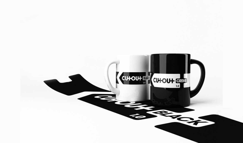 кружки, white, чёрно, black, download, creme, desktop, белое, free, чашки, wolf,