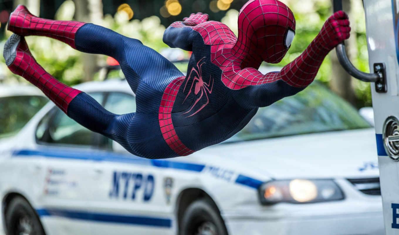 паук, мужчина, amazing, new, movie,