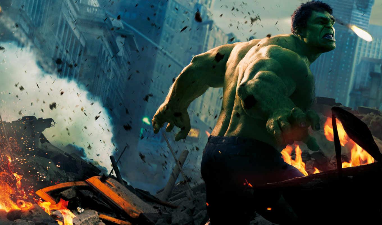 халк, мстители, hulk, зелёный, avengers, тор,