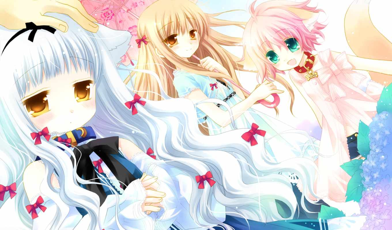 princess, sister, anime, гымт, resolution, wanko, cute, kitsune, lily, sakurazawa, izumi, scenery, girl, desktop,