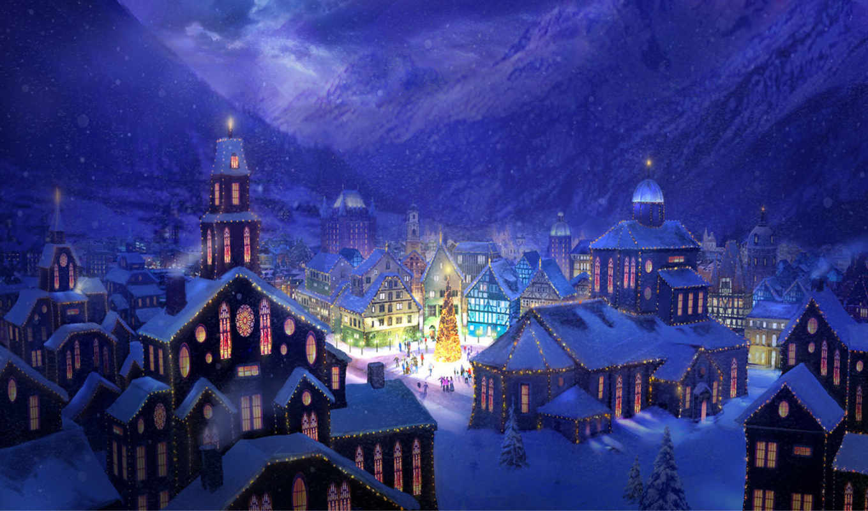 год, новогодние, new, дерево, праздник,