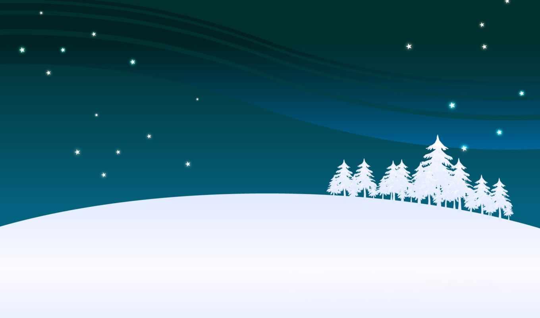 год, new, снег, снежинки, winter, зимние, дек, минимализм, картинка, дерево,