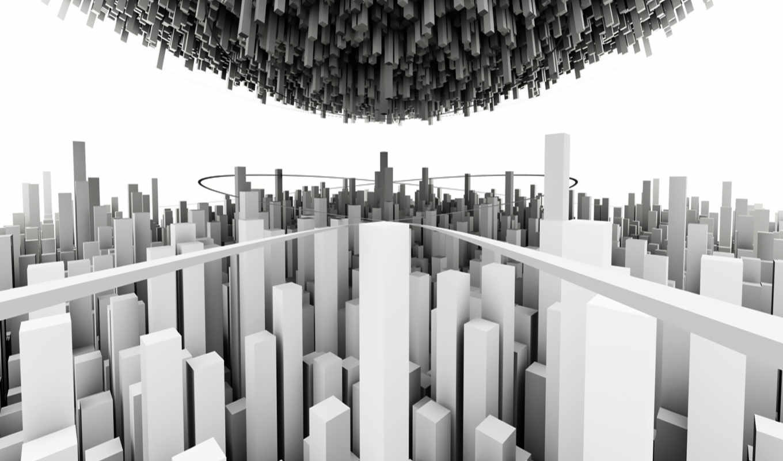 city, minimalistic, minimalistische,
