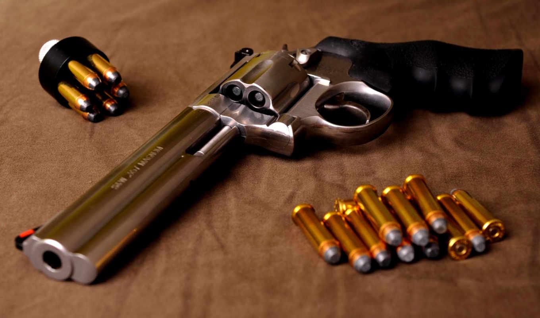 ,revolver, magnum, wesson, smith, патроны, часть, оружие, ammunition,,
