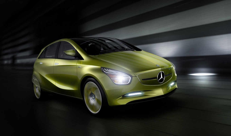 mercedes, benz, concept, bluezero, car, download, desktop, click, خضراء, background,