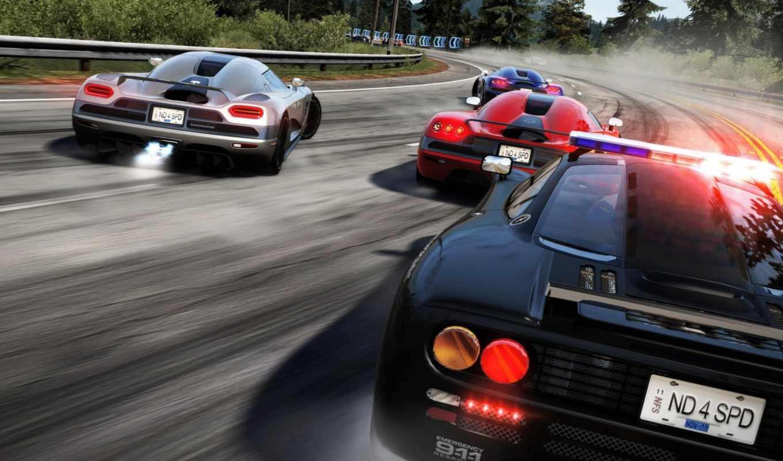 гонка, need, speed, hot, pursuit, трасса, дорога, горы, тачки, поворот,