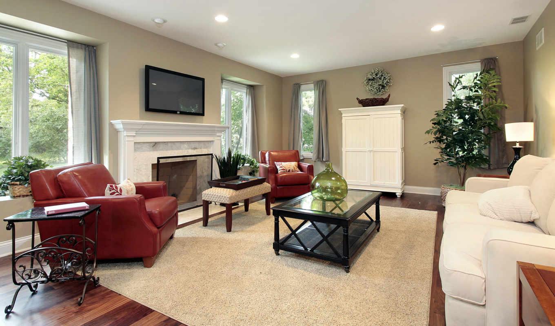 интерьер, гостиной, dome, интерьера, design, дома, частном,