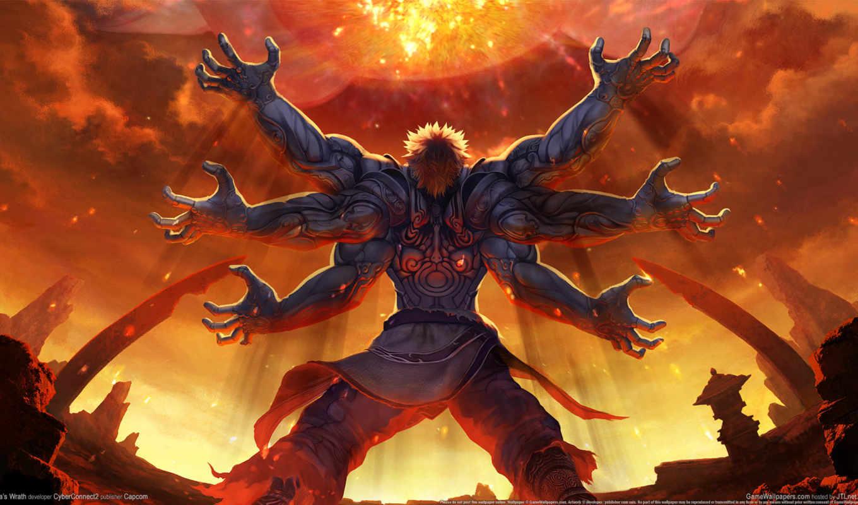 monster, руки, рука, wrath, asura,