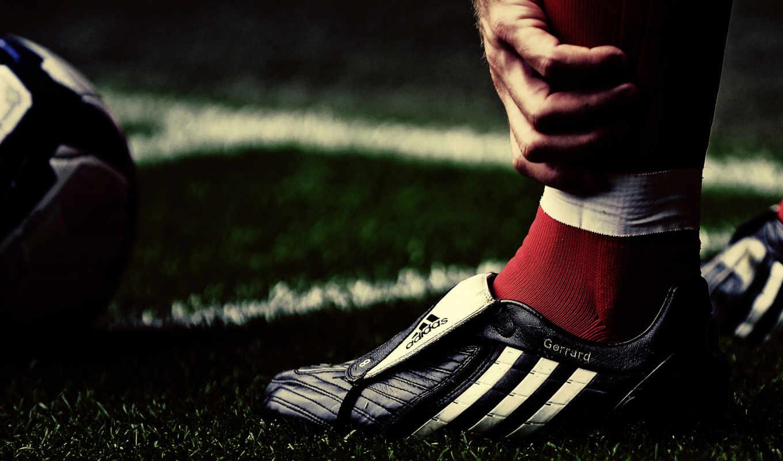 футбол, футбольные, спорт, adidas, foot, джеррард, стивен, мяч, ливерпуль, футболиста, бутсе,