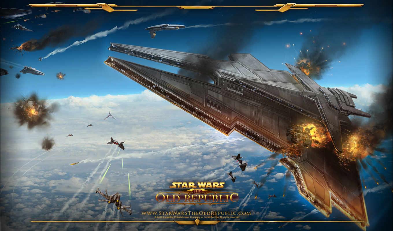 republic, star, wars, корабль, имперский, бой, воздушный, корабли,