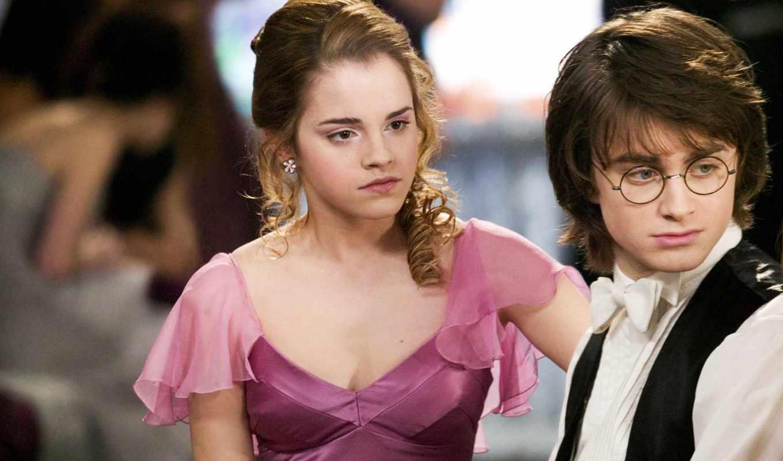 гарри, поттер, emma, cup, hermione, watson, огня,