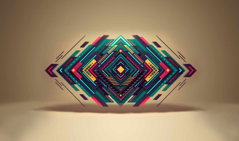 геометрия, треугольник, формы,