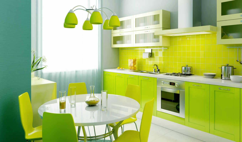 кухни, dizain, кухня, interer, квартире,