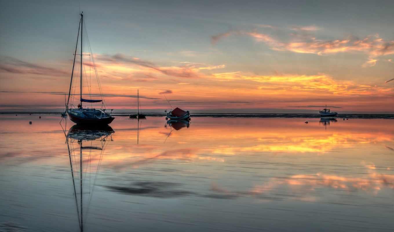 gallery, версия, прилив, небо, море, поездка, лодка, atelier,