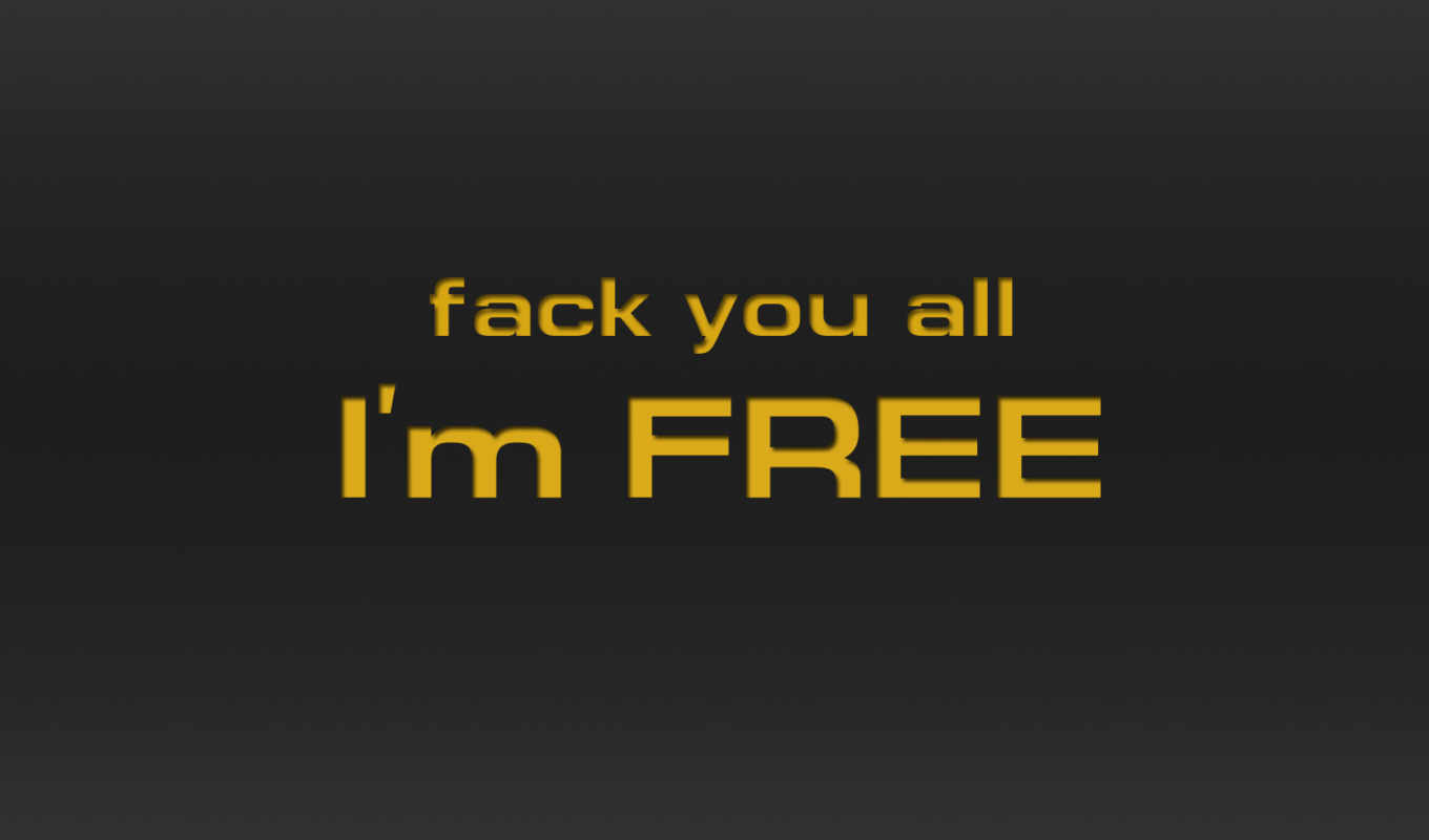you, all, free, fack, минимализм, надпись, mobile, iphone, fuck, day,