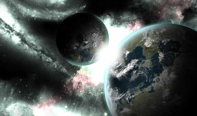 planets, desktop, взгляд, биг, click, planet,