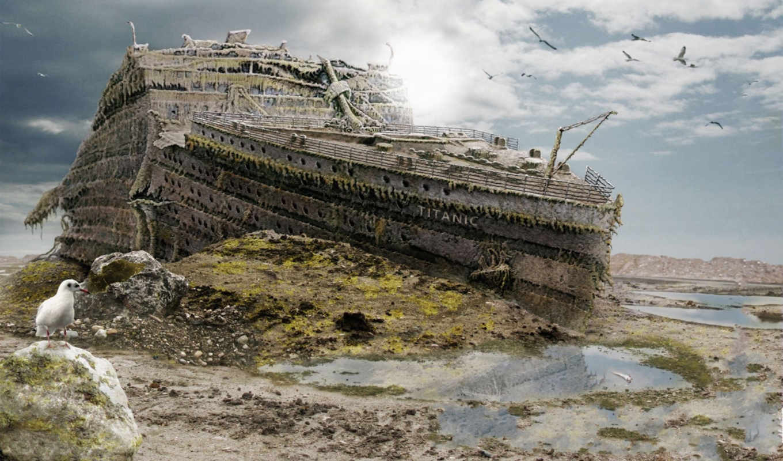 titanic, kaercher, creative, real, was, образ, kaerchertitanic, ads, design, титаник, out,